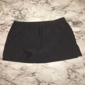 Croft & Barrow back swim skirt bottom SIZE: 8